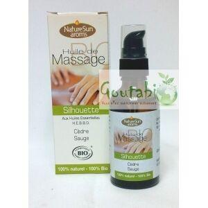 Goutabio Huile de Massage Silhouette Bio
