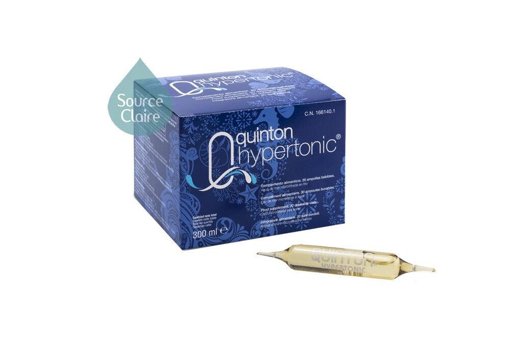 Quinton ® Hypertonic 30 ampoules