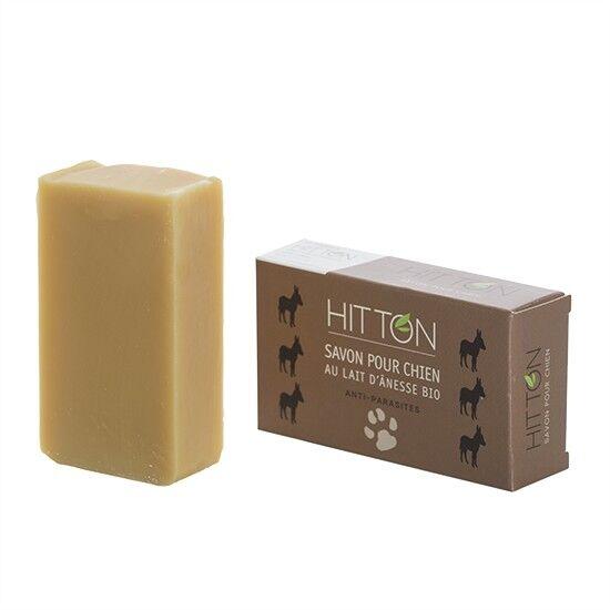 Hitton Savon pour chien au lait d'ânesse bio HITTON