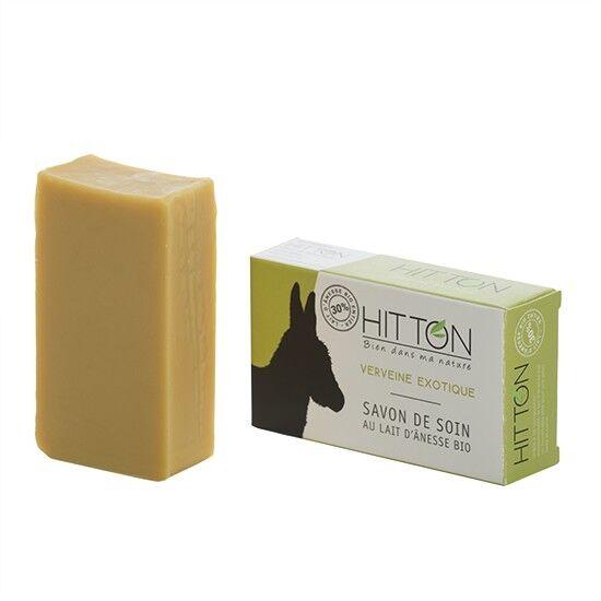 Hitton Savon au lait d'ânesse bio - Verveine exotique  HITTON