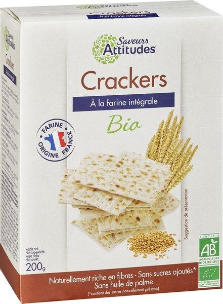Sana Vita Crackers - façon Pain Azyme bio - Farine Origine France, 200 g