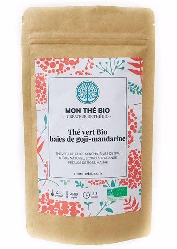 Mon The Bio Thé vert Baies de goji-mandarine BIO