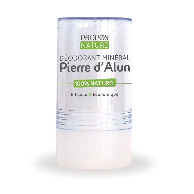 Propos'nature Pierre d'Alun 120 g - Déodorant Minéral 100% Naturel
