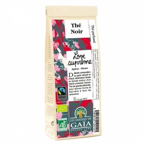JARDINS DE GAÏA Thé Love Suprême (épices, fleurs)