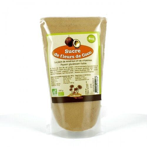 LA MAISON DU COCO Sucre de fleurs de Coco bio - 250 g
