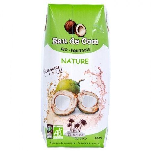 LA MAISON DU COCO Eau de Coco nature bio & équitable