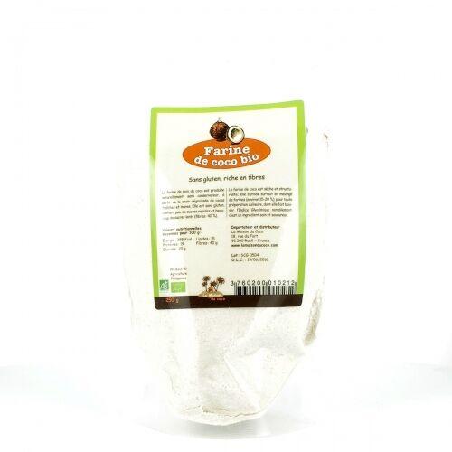 LA MAISON DU COCO Farine de coco bio & équitable, 250 g