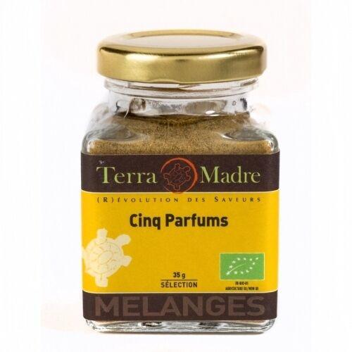 TERRA MADRE Cinq parfums - cuisine asiatique bio