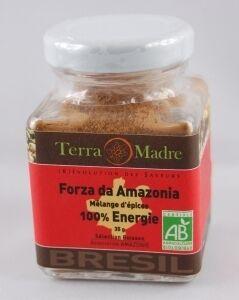 TERRA MADRE Forza da Amazonia - Mélange d'épices 100% Énergie bio  pour Jus...