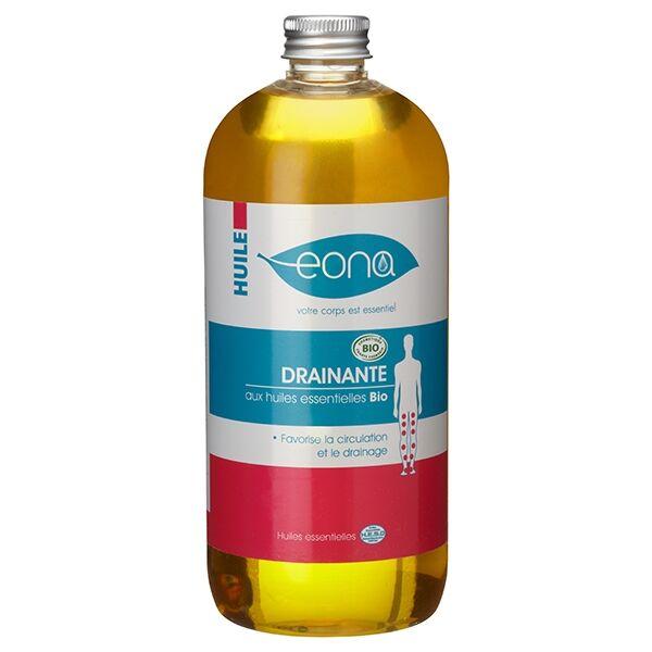 Laboratoires Eona Huile de massage drainante Bio - 500 ml