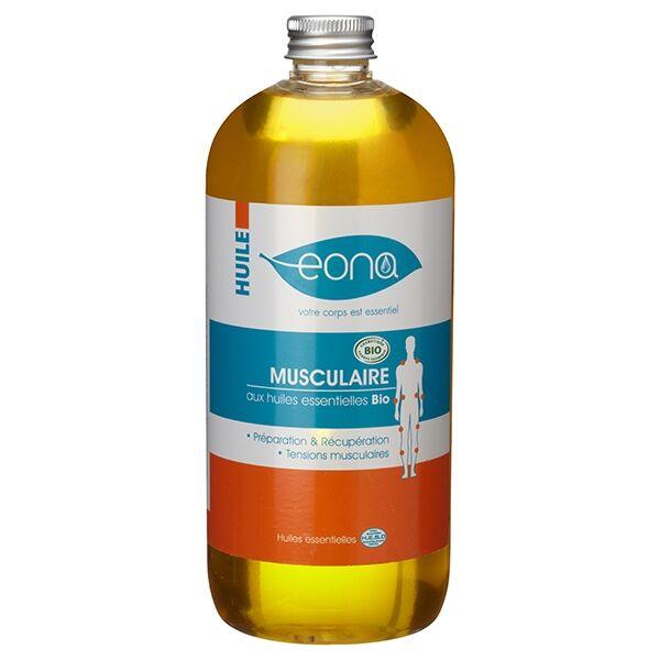Laboratoires Eona Huile de massage musculaire Bio - 500 ml