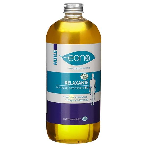 Laboratoires Eona Huile de massage relaxante Bio - 500 ml