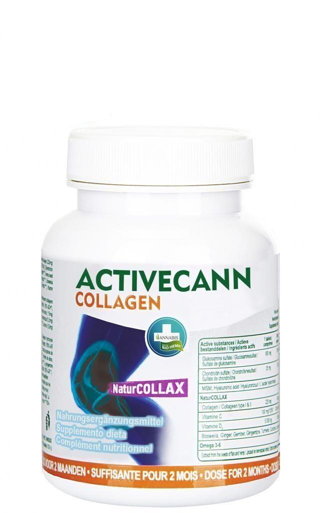 Au P'tit Bonheur Le Chanvre Activecann Collagen Omega 3-6 forte