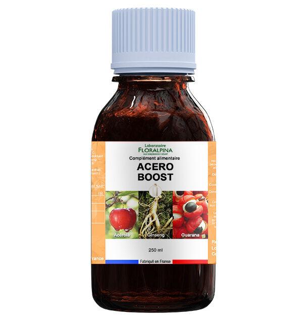 Rue Des Plantes Acéro boost 250ml (acérola, ginseng et guarana) vitamine C