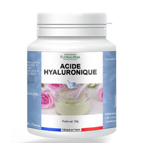 Rue Des Plantes Acide hyaluronique poudre 50g - un élément indispensable à...