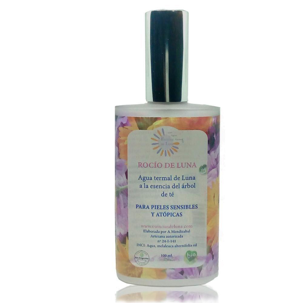 Esencias De Luna Soin visage naturel d'eau thermale à l'essence de Tea tree - 100 ml