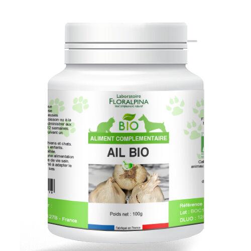 ECOCERT Ail bio 100g, vermifuge naturel pour chien et chat