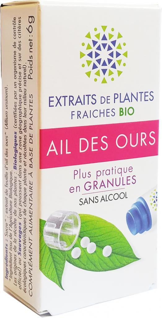 Kosmeo AIL DES OURS Teinture Mère  d'extaits de plantes fraiches...