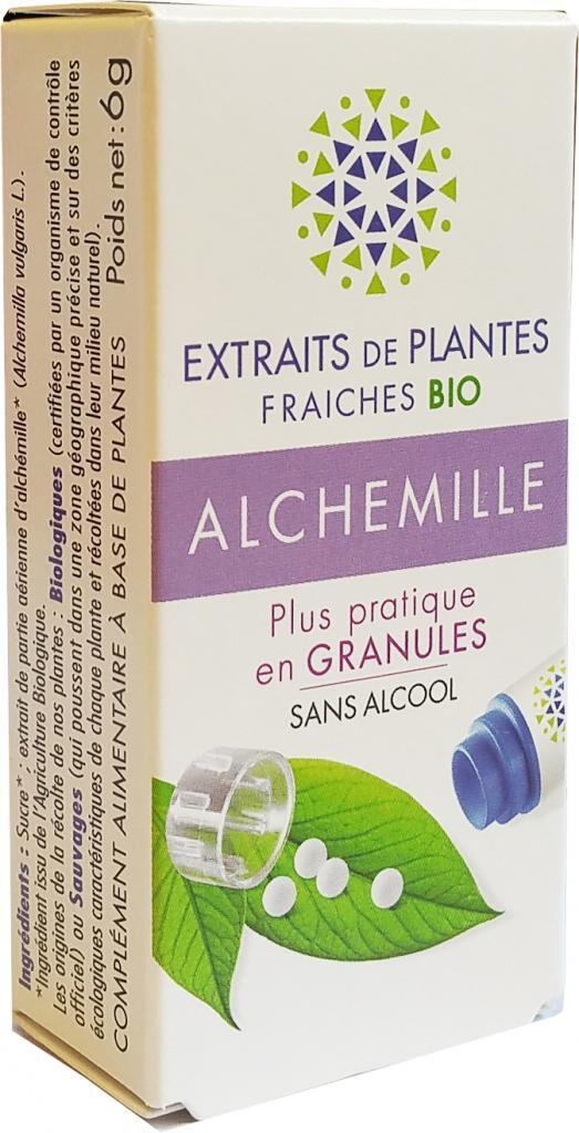 Kosmeo ALCHEMILLE Teinture Mère  d'extaits de plantes fraiches granules ...