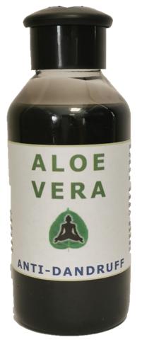 Ayushkar Diffusion Shampoing à l'aloe vera anti-pelliculaire, 100% naturel - 100 ml