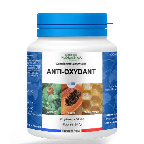 Rue Des Plantes Antioxydant 60 gélules, source d'antioxydants dont la vitamine C...