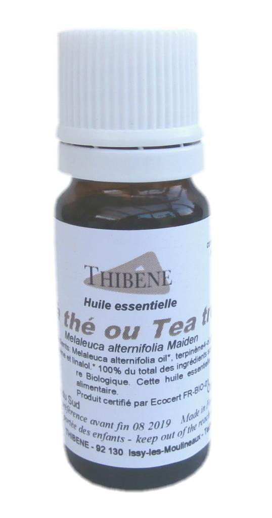 Les Essentiels D'isabelle Huile essentielle bio - d'arbre à thé (Tea tree oil) - 10 ml