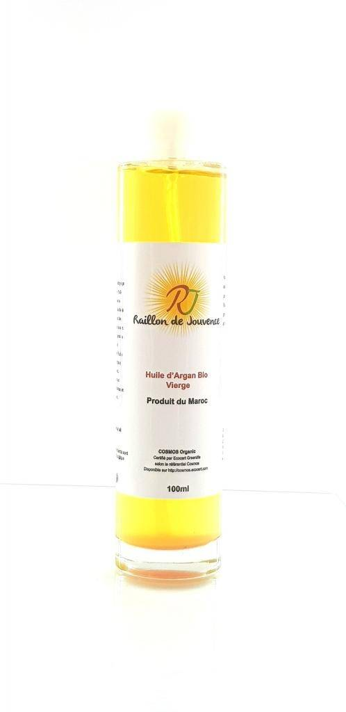 Raillon de jouvence- Huile d'argan bio pure 100ml