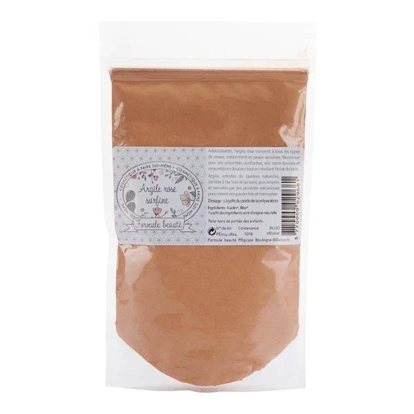 Formule BeautÉ Argile rose surfine 150g - 100% pure et naturelle