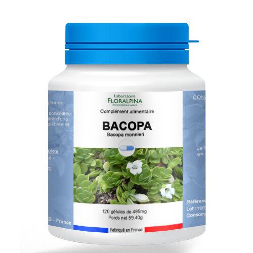 Rue Des Plantes Bacopa 120 gélules - prévenir et à soulager le stress - Bacopa...