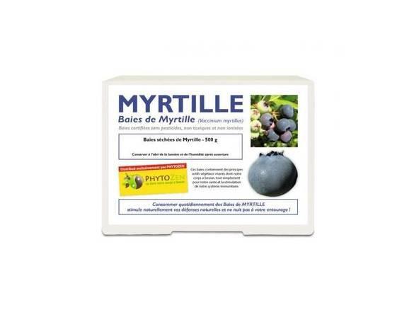 Sarl Ebo - Petitetomate Baies séchées Myrtilles - Phytozen