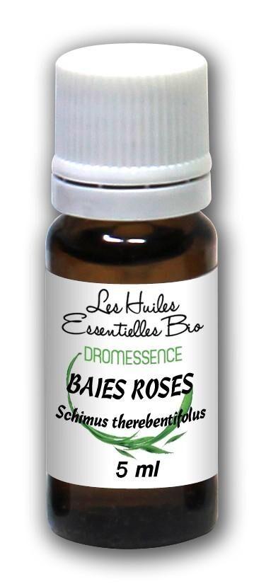 Dromessence Huile essentielle Baies roses BIO 5 ml  DROMESSENCE