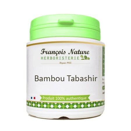 François Nature Bambou tabashir Gélules ou poudre100 g. de poudre pure