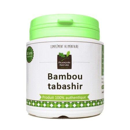 François Nature Bambou tabashir Gélules ou poudre1000 gélules gélatine végétale