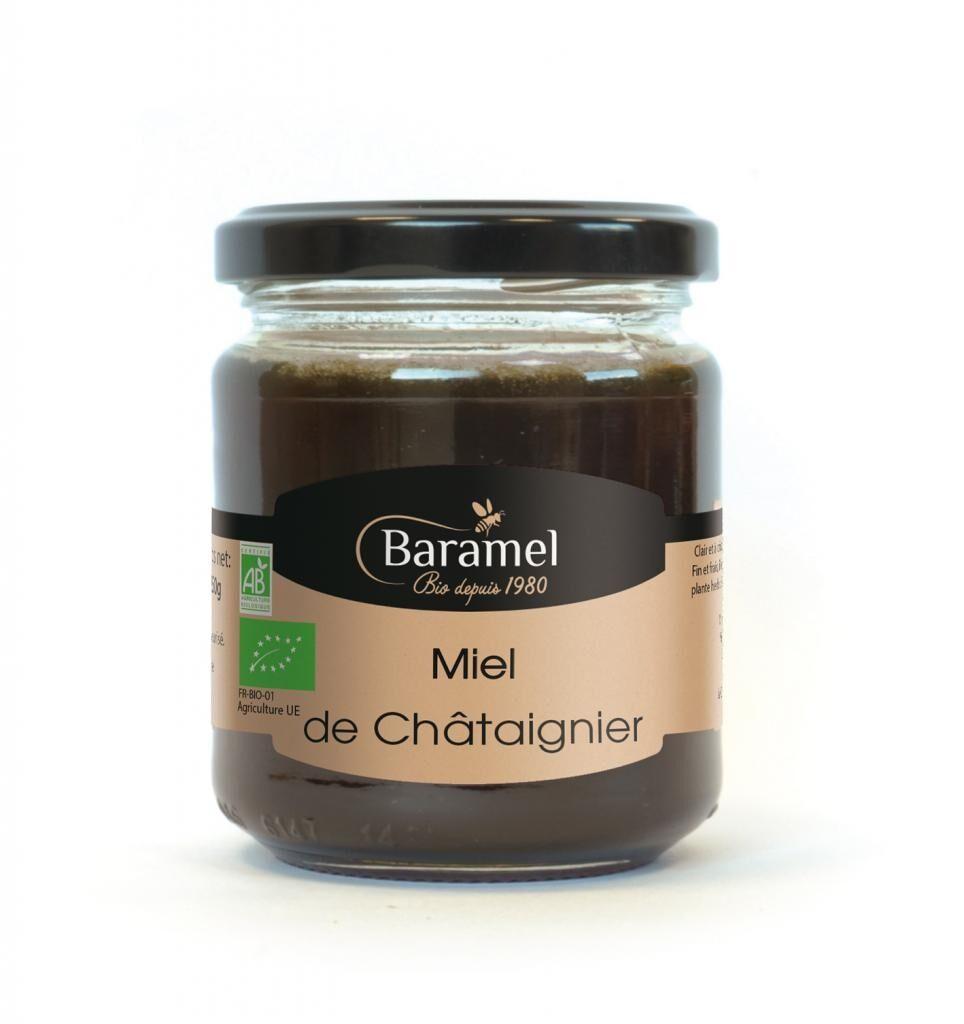 Baramel Miel de Châtaignier biologique 250gr - Baramel