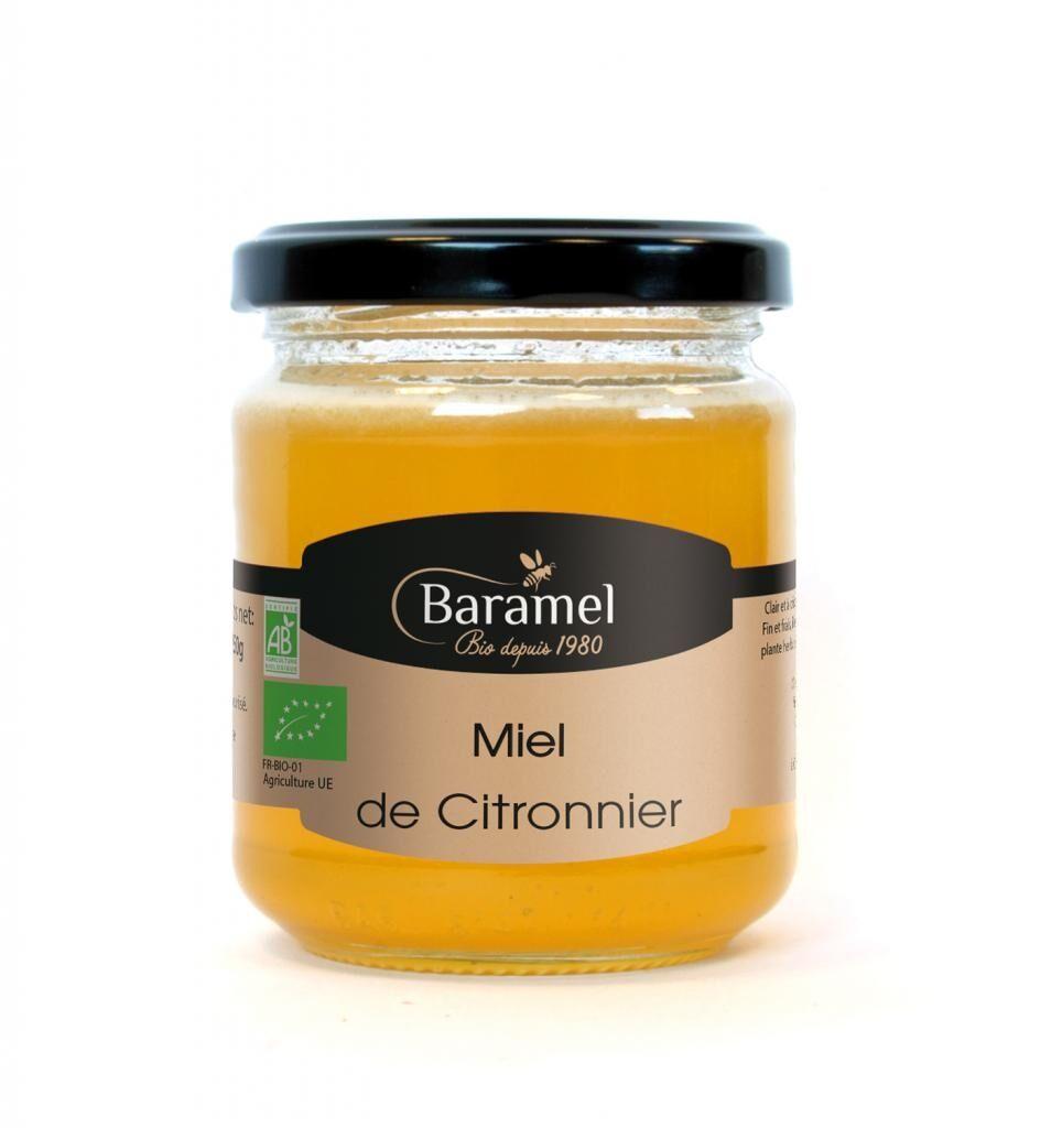 Baramel Miel de Citronnier biologique 250gr - Baramel