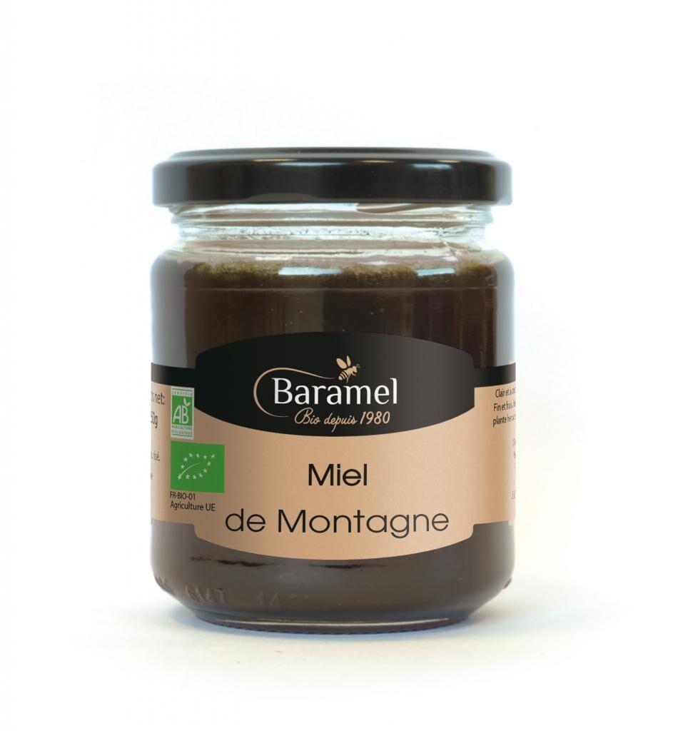 Baramel Miel de Montagne biologique 500gr - Baramel