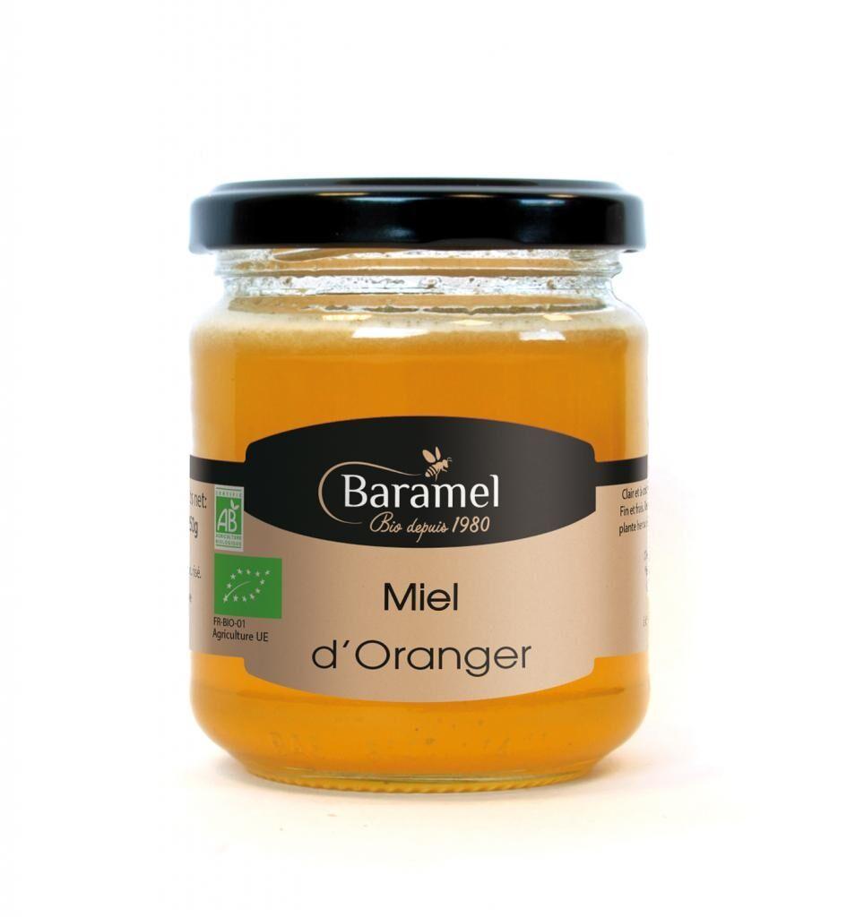 Baramel Miel d'Oranger biologique 500gr - Baramel
