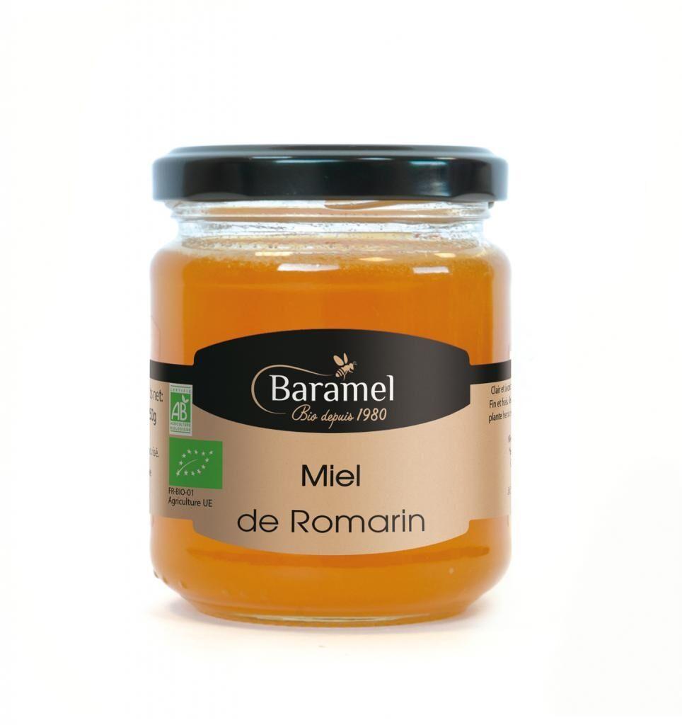 Baramel Miel de Romarin biologique 250gr - Baramel