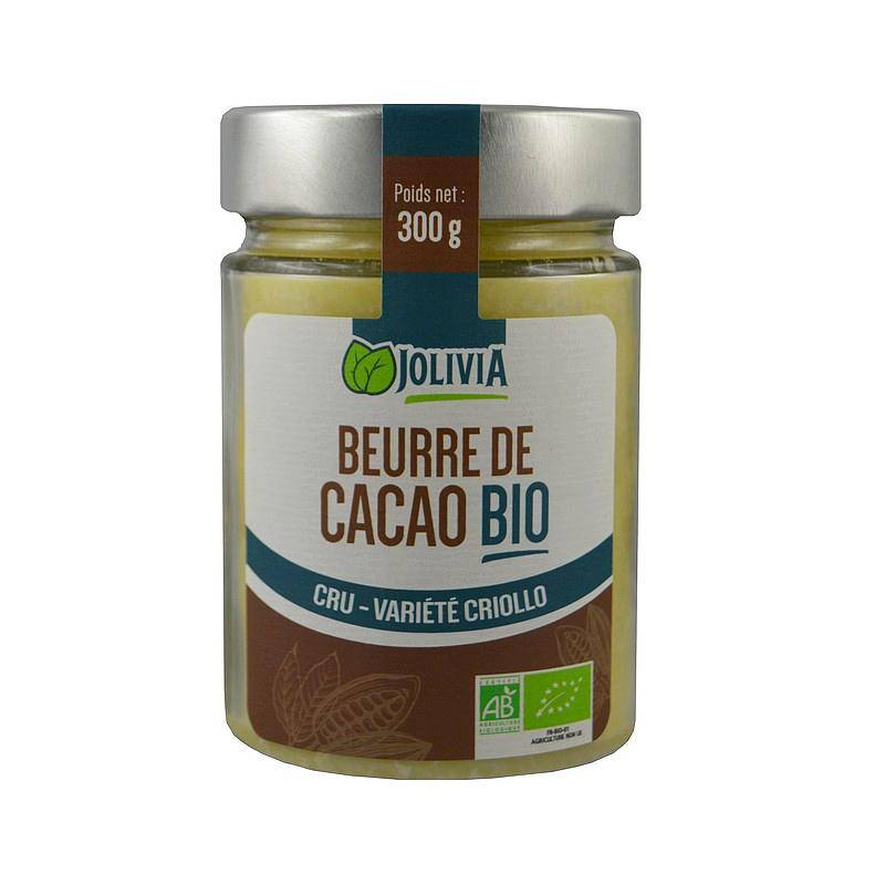Jolivia Beurre de cacao Bio - 300 g