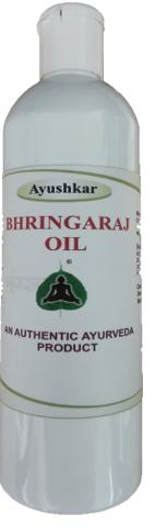 Ayushkar Diffusion Huile de massage ayurvédique Bhringraj - 200 ml