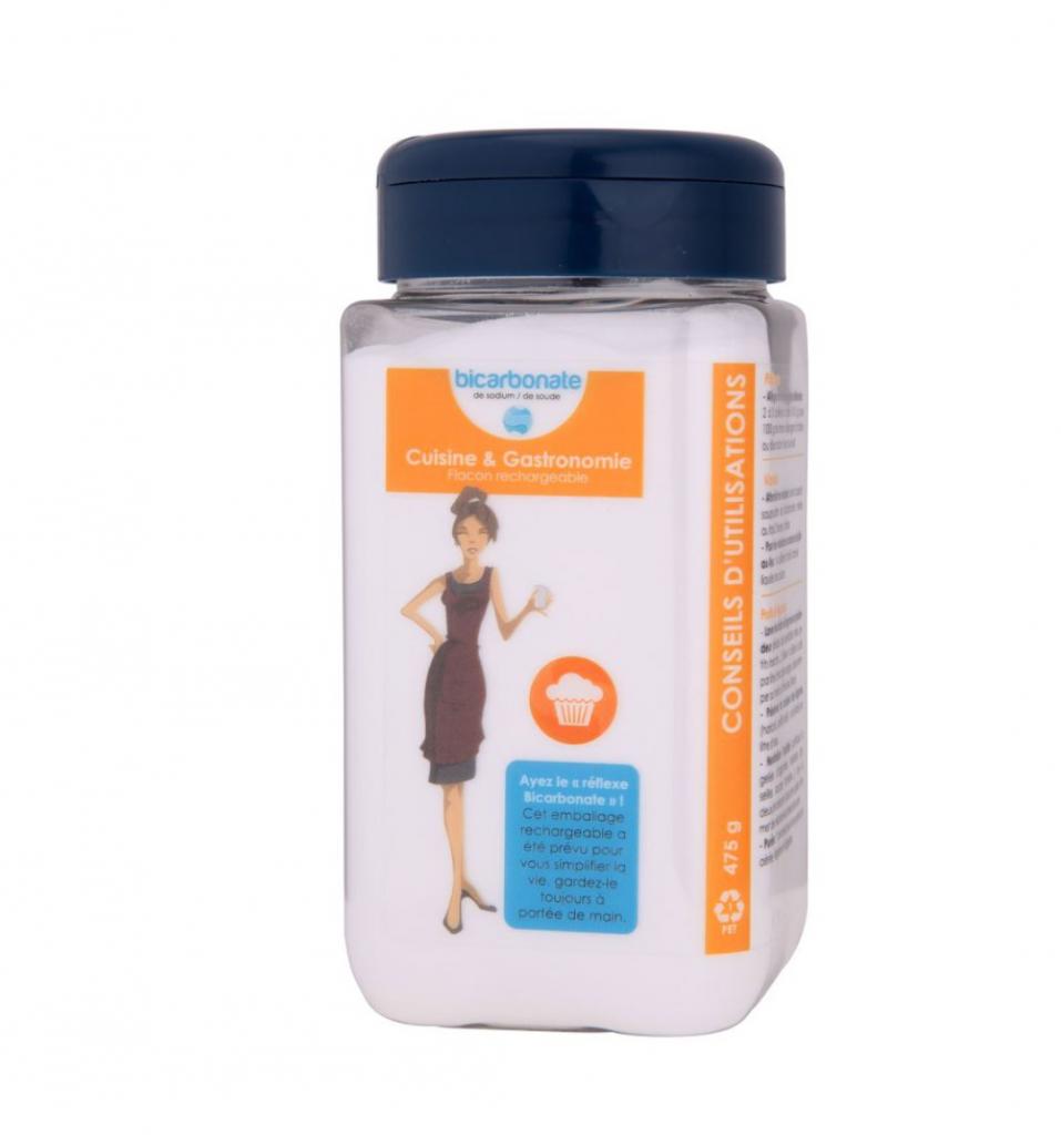 Essentielbio Flacon rechargeable Bicarbonate de Sodium (soude) Cuisine et...