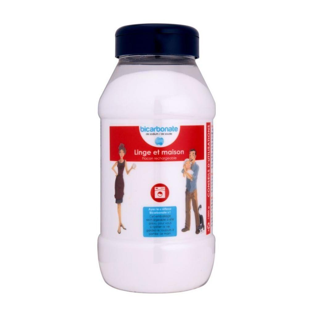 Essentielbio Flacon rechargeable Bicarbonate de Sodium (Soude) Entretien du...