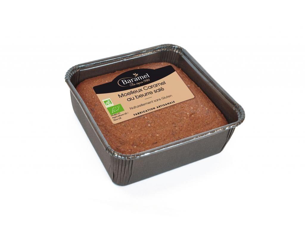 Baramel Gâteau Moelleux au Caramel - Naturellement sans gluten 140g - Baramel