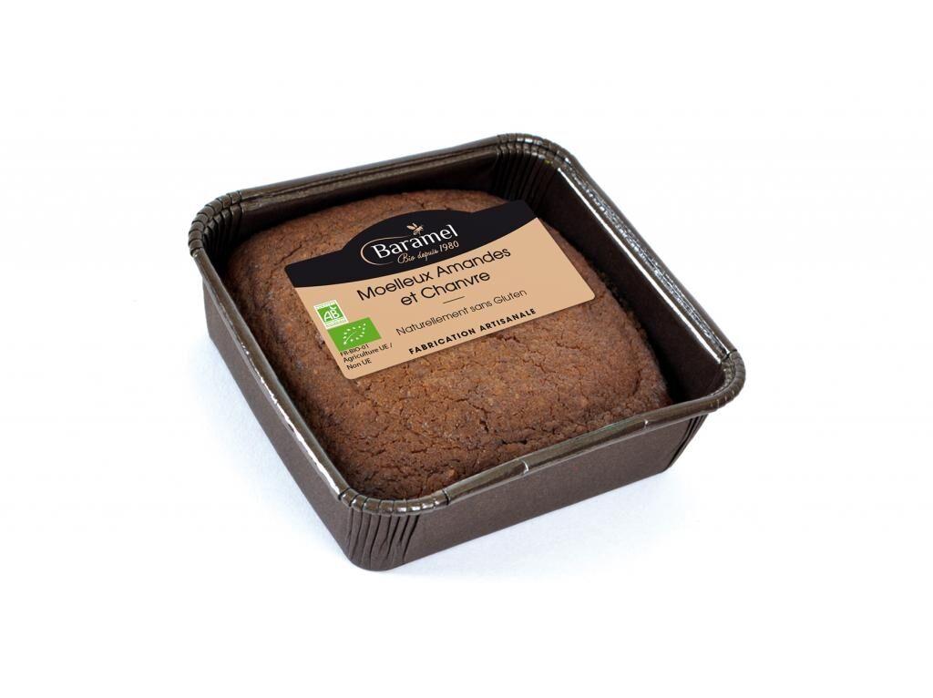 Baramel Gâteau Moelleux au Chanvre - Naturellement sans gluten 140g - Baramel