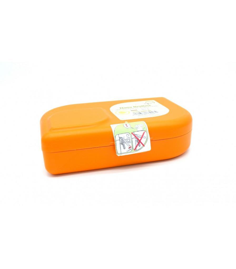 Jolie PlanÈte Lunchbox ou boîte à goûter - Orange