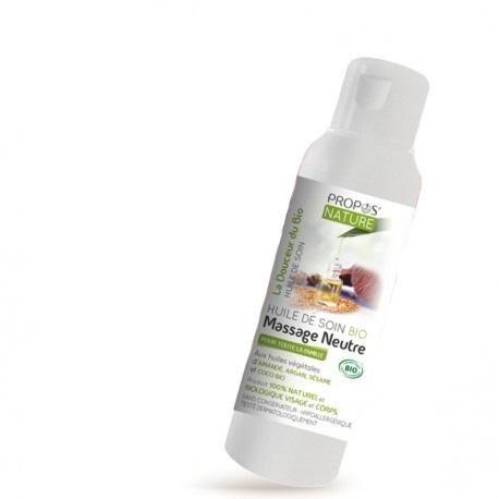 Consomacteurs Associés Huile de soin Bio - Massage neutre