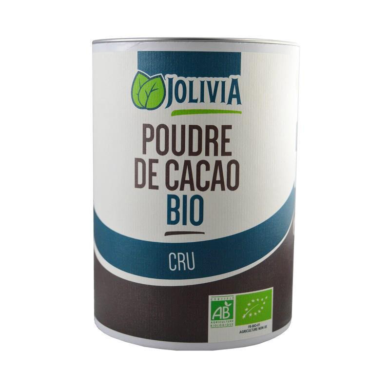 FRUCTIVIA Poudre de Cacao cru Criollo Bio - 350 g