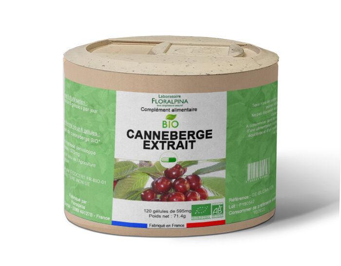 Rue Des Plantes Canneberge extrait bio 120 gélules, action antioxydant + confort...