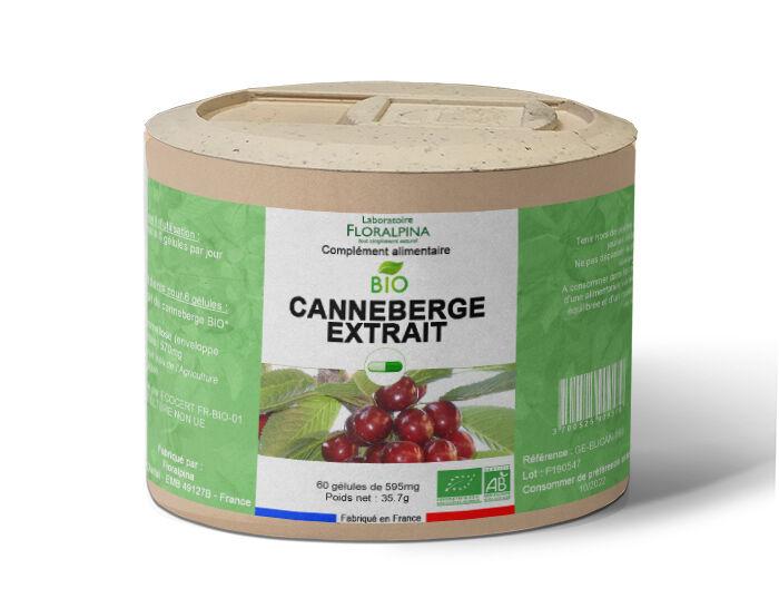 Rue Des Plantes Canneberge extrait bio 60 gélules, antioxydant et confort...