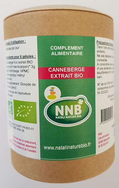 Natali Nature Bio Canneberge Extrait Bio
